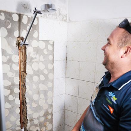 Leaking Shower Parkwood